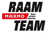 Race across America Maxmo Team - Logo
